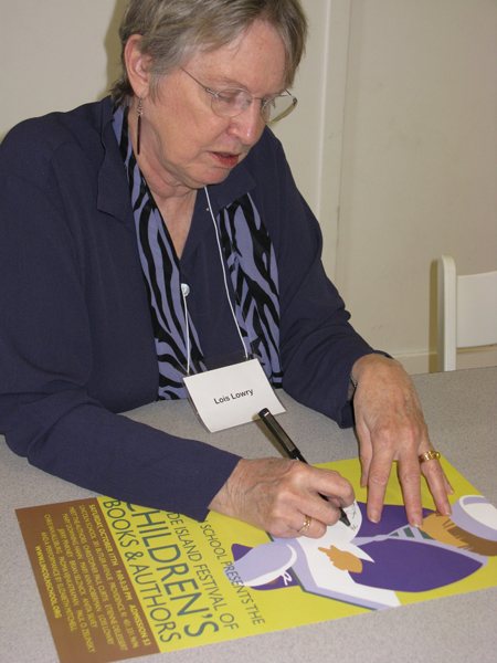 lois lowrey_sign