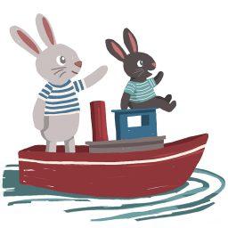 boat bunnies