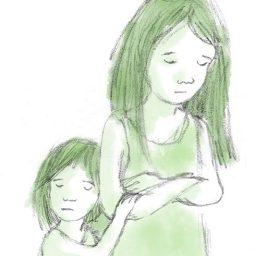 2 girls oliver poem
