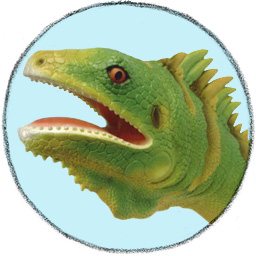 Iguana Hand Puppet